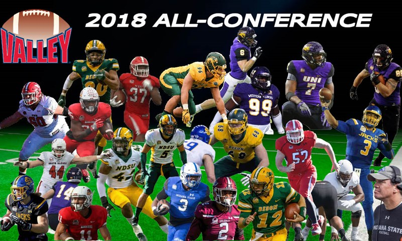Valley Football Announces 2018 All Conference Teams Missouri Valley Football Conference